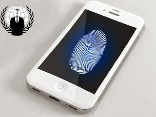 """iPhone 5s Fingerprint Database Links To U.S Govt."" -- Anonymous Claim They Can Prove It 