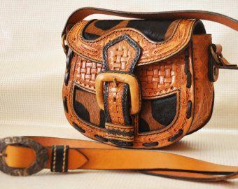 Tavoletta di scarpa in pelle marrone borsa messenger