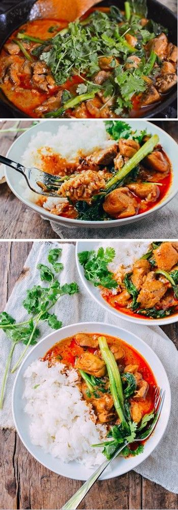 Red Curry Chicken Recipe, by the Woks of Life