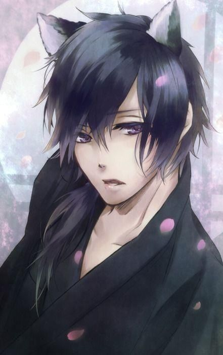 Anime guys with wolf ears the cutest | ANIME | Pinterest ...