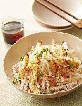 大根カリカリサラダ by かどや製油 [クックパッド] 簡単おいしいみんなのレシピが223万品