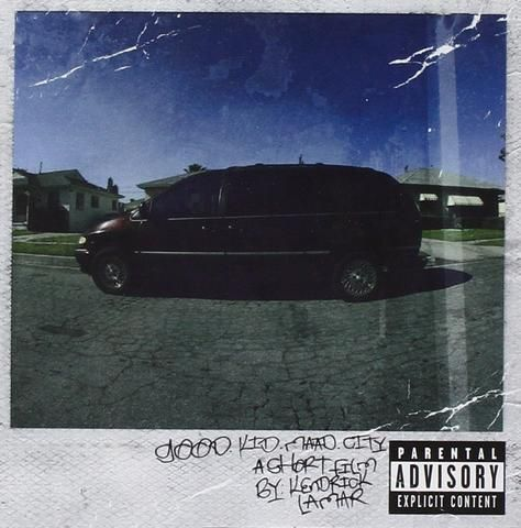 Kendrick Lamar - GOOD KID, m.A.A.d CITY LP $50