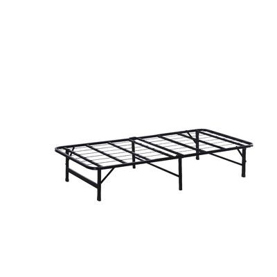 wildon home platform bed frame size twin - Twin Bed Frame Size