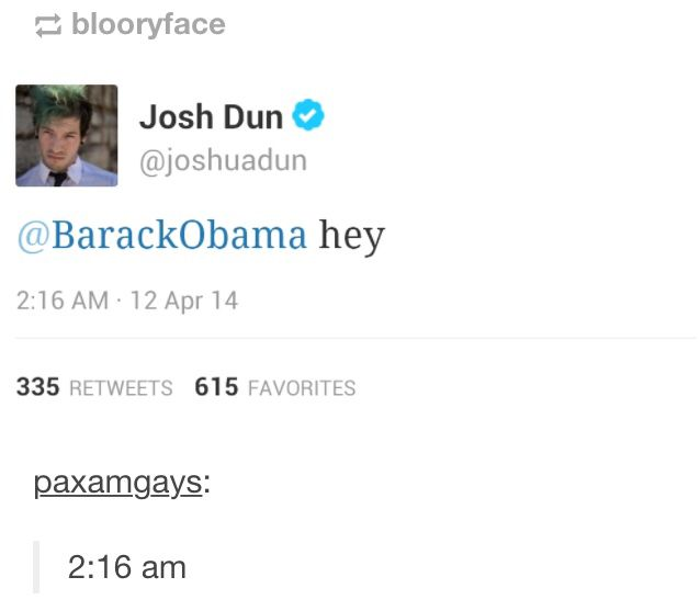 Josh Dun drunk texting his ex. I have created a new ship I shall call it Dunbama until I think of something better. #Dunbama