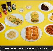 Peter Miniel pasó al otro mundo, el 6 de octubre del 2004, después de ingerir: 20 tacos de carne, 20 enchiladas de carne, una pizza con jalapeños, una porción de pollo frito, fideos condimentados solamente con sal, media torta de chocolate, media de vainilla, un helado de crema con galletitas, un helado de caramelo, una torta de vainilla con frutas, dos latas de Coca Cola, dos de Pepsi, dos pintas de cerveza negra y dos jugos de naranja. (Julia Ziegler-Haynes - Today's Special © 2012…