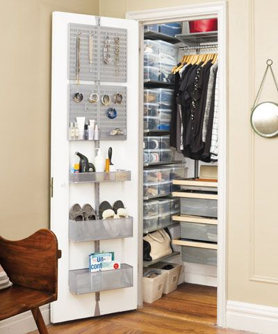10 Unique Ways to Organize Small Closets6