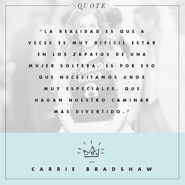 Las mejores quotes de Carrie Bradshaw - ELLE : ELLE
