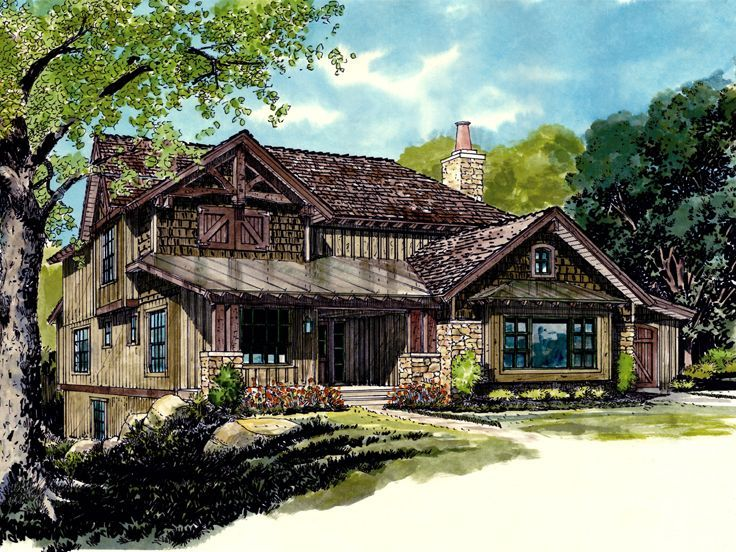 102 best Mountain House Plans images on Pinterest Mountain house