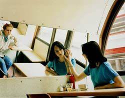 Untitled - May 1997- use of mirrors, reflection-Hannah