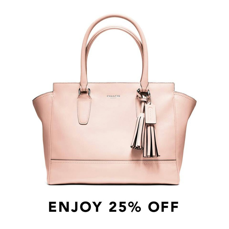 Pink Legacy Coach purse. Check out new Coach Factory ...