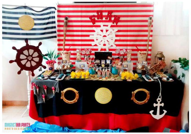 Fran y los piratas del nunca jamás.... | CatchMyParty.com