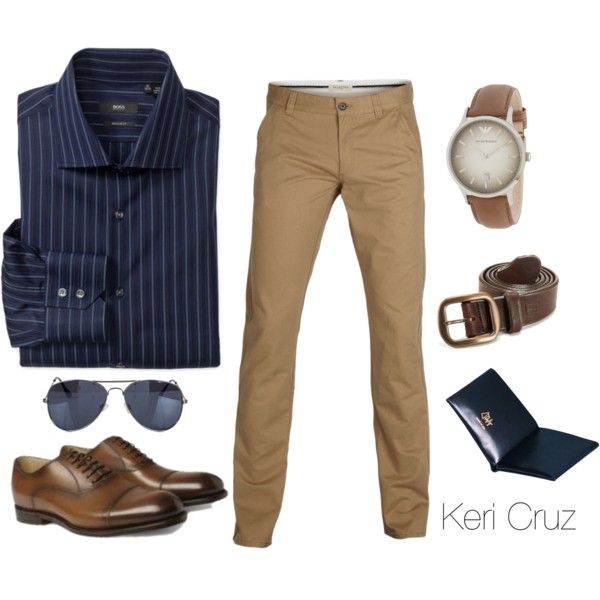 Dapper man, created by keri-cruz on Polyvore