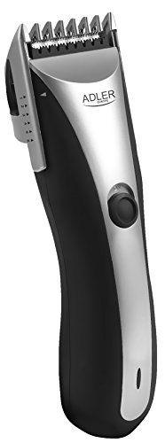 ADLER AD2813 Tondeuse Cheveux et Barbe, 7 Hauteurs de coupe entre 6 et 17mm, rechargeable, fonctionne sans fil