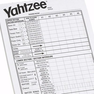 18 best Fun \ Games images on Pinterest Bunco ideas, Bunco - sample yahtzee score sheet