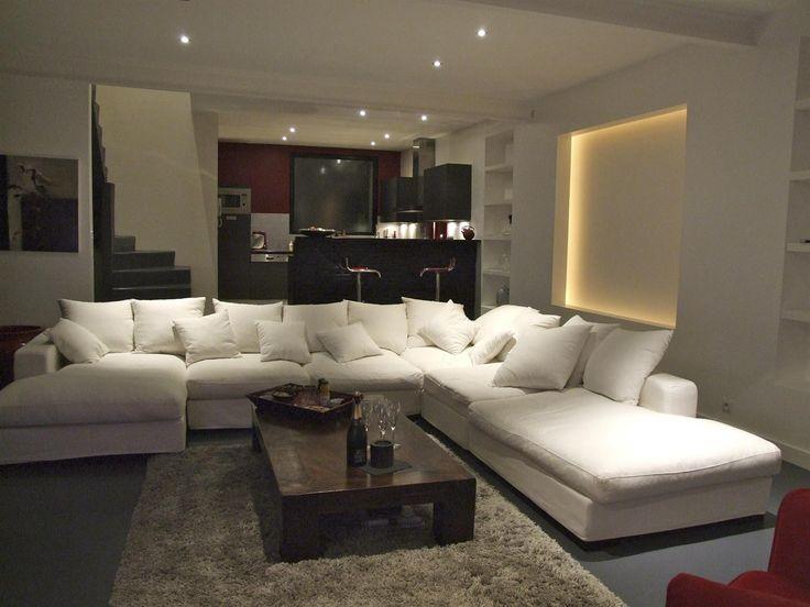 les 8 meilleures images propos de id e salon sur pinterest baroque taupe et cuisine. Black Bedroom Furniture Sets. Home Design Ideas