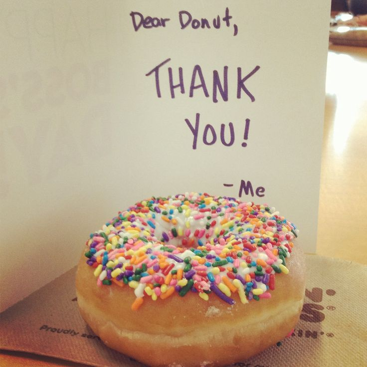 It's time to thank your donut on Doughnut Appreciation Day!