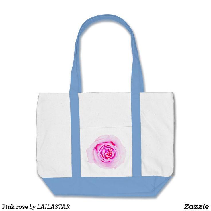 Rosa Rose Tragetasche