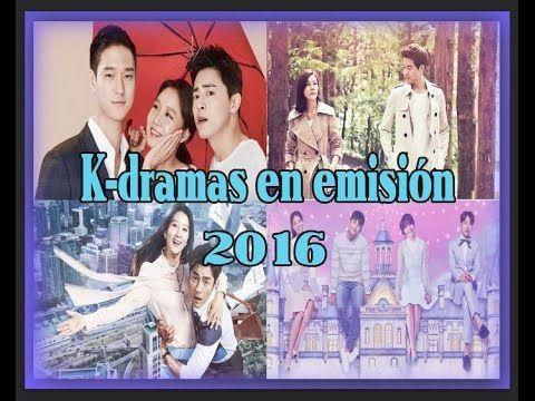NUEVOS K-dramas en emisión- Doramas coreanos 2016- ¡No te los pierdas!