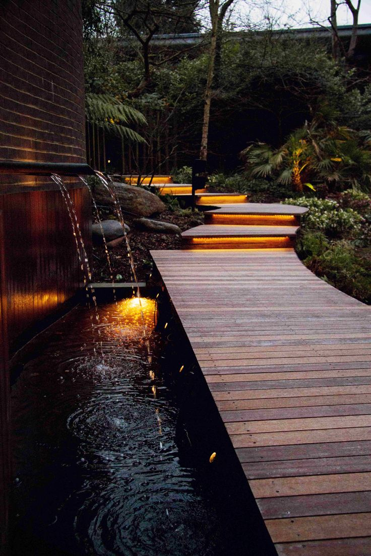 A waterscape from your dreams | http://www.greenturf.com/services/outdoor-beautification/water-features/