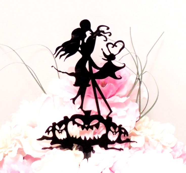 Jack And Sally Wedding Cake Topper By Yourpersonalengraver