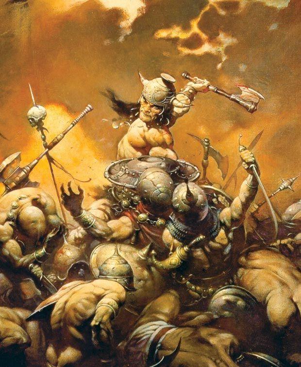 Frank Frazetta - Conan the Destroyer