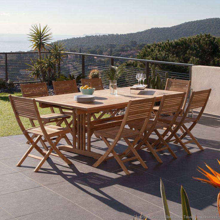 Top 25+ best Salon de jardin teck ideas on Pinterest   Terrasse en ...