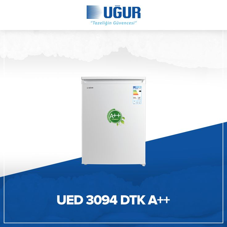 UED 3094 DTK A++ birçok özelliğe sahip. Bunlar; çevreye duyarlı çalışma sistemi, tasarruflu A++ enerji sınıfı, sağlam gövde yapısı, 94 lt geniş iç hacim ve besinleri gruplayarak saklamanıza olanak tanıyan dayanıklı çekmeceler. #uğur #uğursoğutma