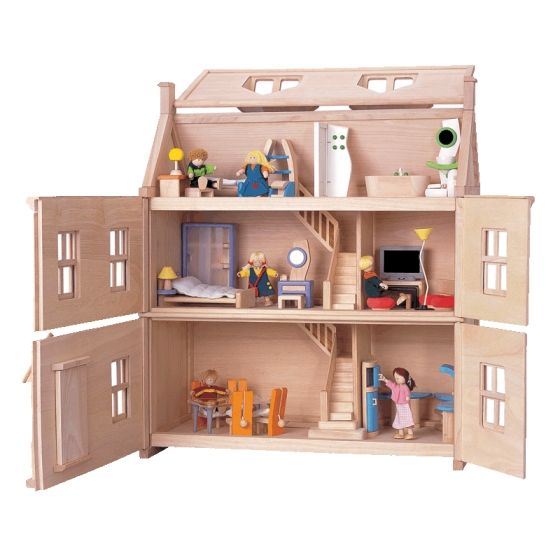 Wooden doll house plans victorian wooden dolls house for Young house love dollhouse