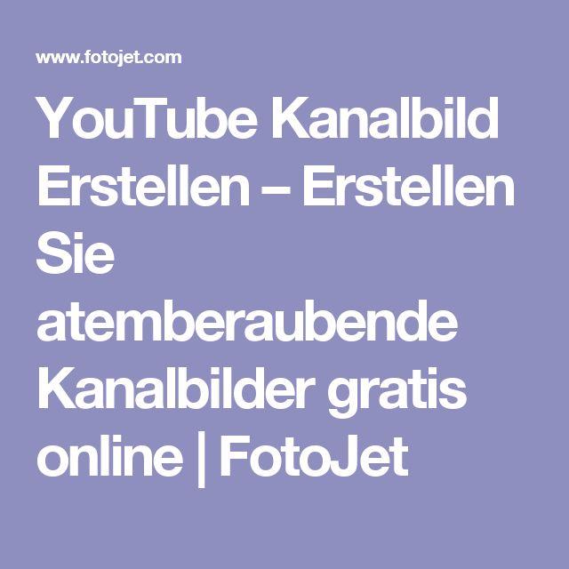 YouTube Kanalbild Erstellen – Erstellen Sie atemberaubende Kanalbilder gratis online | FotoJet
