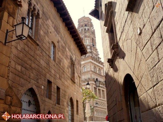 Poble Espanyol In Barcelona