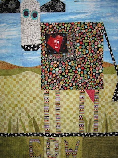 Cowabunga. I love this cow quilt!