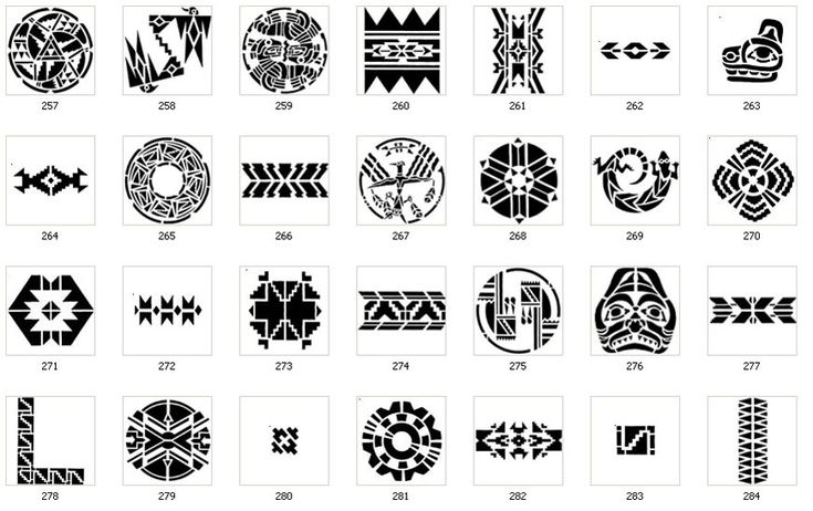 Native American Tribal Tattoos Meanings