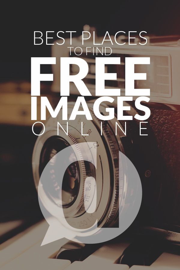 Best Places to Find Free Images Online - This is an exceptional list. Pin now, visit later #images #graphics #free