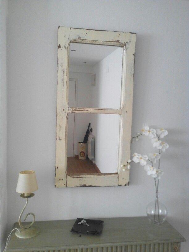 133 Espejos Antiguos Reciclados - m s de 1000 ideas sobre muebles ...