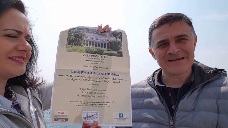 Presentazione dell'Evento Luoghi Storici e Musica a Villa Pignatelli del...