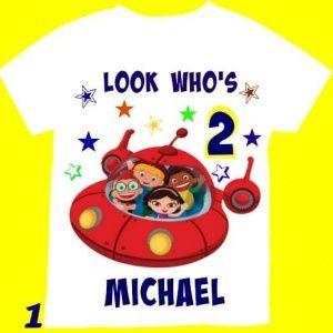 Little Einsteins  boy birthday shirt