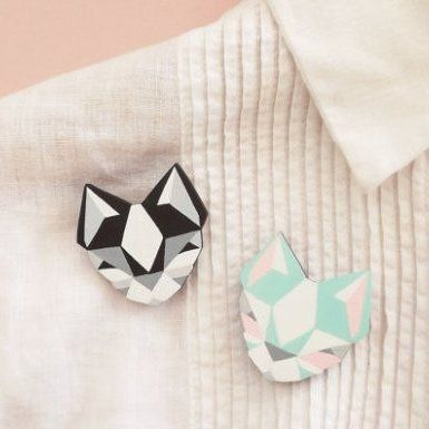 Broche-chat - La boutique de Loulou