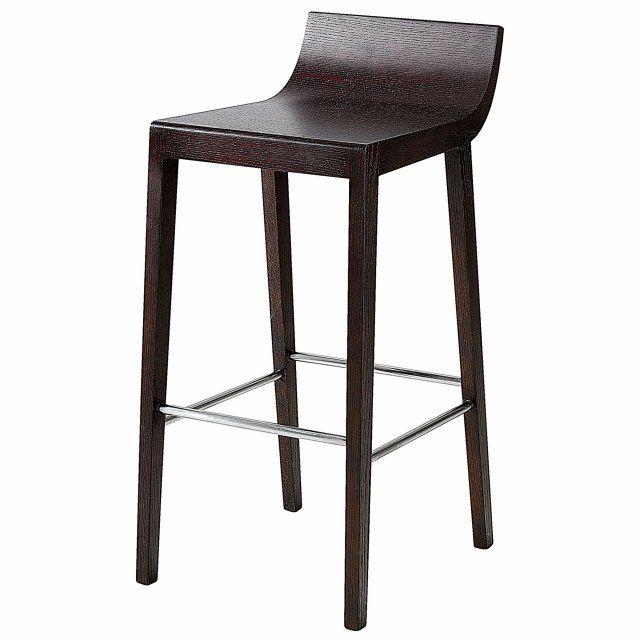 Chaise cuisine noir chaise chaises de cuisine et de salle for Table chaise gain de place