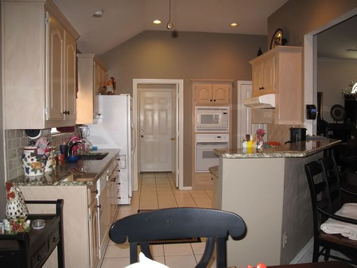 Tips For Kitchen Color Ideas: Alexandria Beige Benjamin Moore...love The Granite