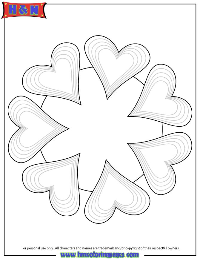 free printable mandala coloring pages heart mandala coloring page coloring mandalas. Black Bedroom Furniture Sets. Home Design Ideas