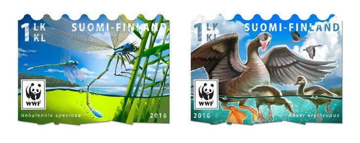 Syyskuussa loiskahtaa: Pullervon lajiveljet saavat oman postimerkin | Helsingin Uutiset