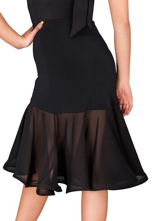 DSI Aria Latin Dance Skirt | Dancesport Fashion @ DanceShopper.com