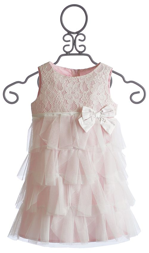 For Nikki's wedding Biscotti Tea For Two Pink Girls Dress $46.50