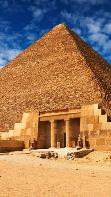 Egyptian Pyramids Architecture