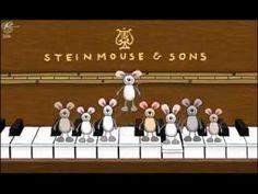Cancion Feliz Cumpleaños con ratones y piano - YouTube
