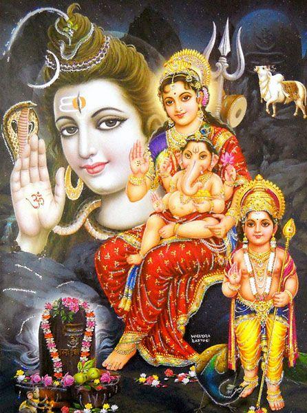 lord Shiva family pics