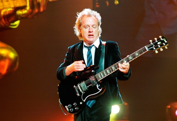 AC/DCs Angus Young: The Rock Roll Peter Pan | Music News | Rolling Stone