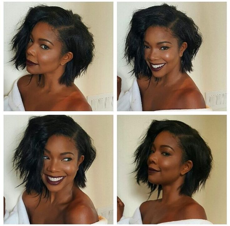 Fine 1000 Ideas About Gabrielle Union Hair On Pinterest Gabrielle Short Hairstyles For Black Women Fulllsitofus