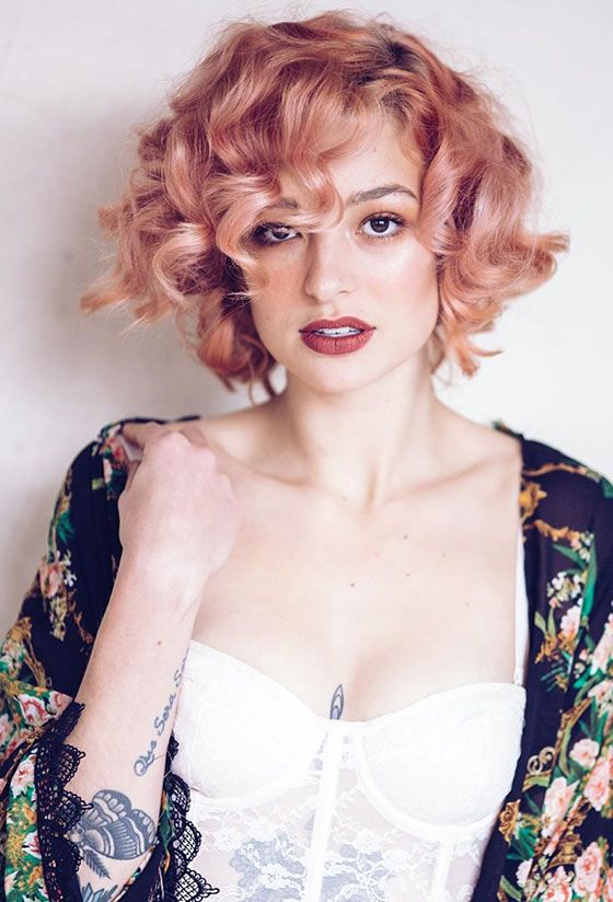 short hair vintage styles best 25 curly hairstyles ideas on 3493 | c608a9988ab7b47e04055517b7ccc7bc vintage curls short hair short vintage hairstyles