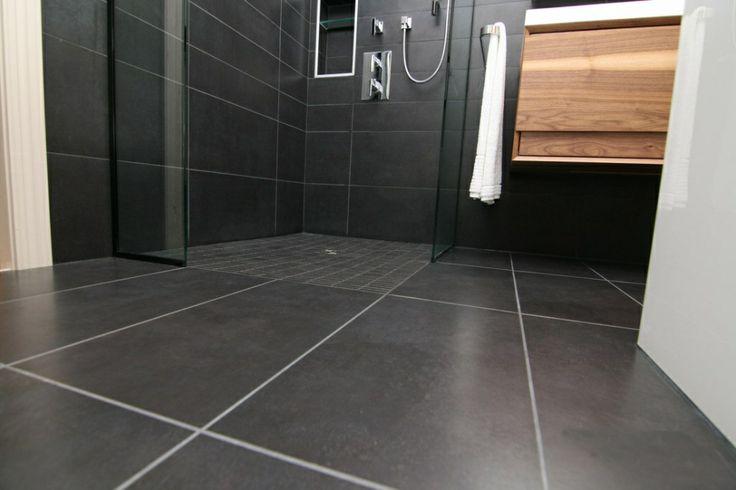 32 best images about bad on pinterest grey bathrooms design and und. Black Bedroom Furniture Sets. Home Design Ideas